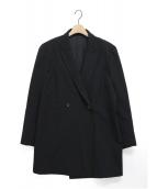 Y's(ワイズ)の古着「ダブルコート」|ブラック