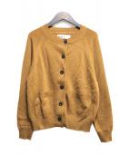 MHL.(エムエイチエル)の古着「コットンカーディガン」|ブラウン