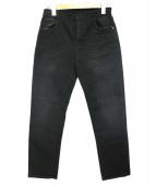 Current/Elliott(カレントエリオット)の古着「デニムパンツ」|ブラック