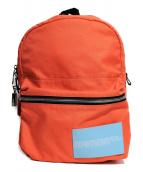 Calvin Klein(カルバンクライン)の古着「バックパック」|オレンジ