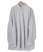 Martin Margiela(マルタンマルジェラ)の古着「ストライプオーバーサイズシャツ」