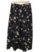 CLANE(クラネ)の古着「フラワープリントスカート」
