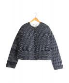 LIVIANA CONTI(リビアナコンティ)の古着「ダウンジャケット」|ネイビー