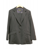 Leilian(レリアン)の古着「セットアップスーツ」|ブラック