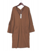 sulvam(サルバム)の古着「オーバードレス」|ブラウン