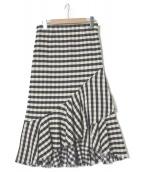 LES COYOTES DE PARIS(レコヨーテドゥパリ)の古着「ギンガムスカート」