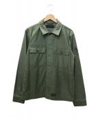 MAIDEN NOIR(メイデン ノワール)の古着「ミリタリージャケット」|オリーブ