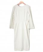 CELFORD(セルフォード)の古着「タックタイトワンピース」|ホワイト