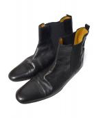 HERMES(エルメス)の古着「ストレートチップサイドゴアブーツ」|ブラック