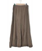 Deuxieme Classe(ドゥーズィエム クラス)の古着「シルクレーヨンマキシスカート」