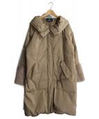 BRAHMIN(ブラーミン)の古着「袖エコファーダウンコート」