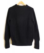 Andersen-Andersen(アンデルセンアンデルセン)の古着「SEAMAN 7GG ニット」|ネイビー