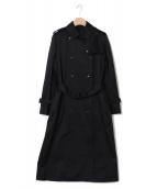 Demi-Luxe BEAMS(デミルクス ビームス)の古着「トレンチコート」|ブラック