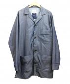 FACTOTUM(ファクトタム)の古着「フィナーレパジャマシャツコート」 インディゴ