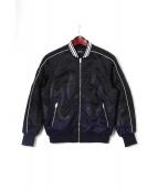 DIESEL(ディーゼル)の古着「ファイヤースカジャン」|ブラック