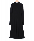 styling kei shirahata(スタイリングケイシラハタ)の古着「リブニットドレス」|ブラック