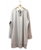 MM6(エムエムシックス)の古着「スウェットワンピース」|グレー