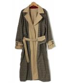 Ameri VINTAGE(アメリ ヴィンテージ)の古着「REVERSIBLE TRENCH COAT」|ベージュ