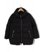Noble(ノーブル)の古着「エステルファイユミドルダウンコート」|ネイビー
