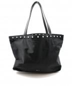 agnes b(アニエスベー)の古着「プレッショントートバッグ」|ブラック