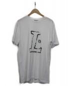 LANVIN(ランバン)の古着「ロゴTシャツ」 ホワイト