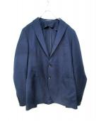 TAGLIATORE(タリアトーレ)の古着「ムジェロポップサックジャケット」 ネイビー