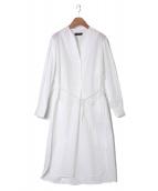 CHRISTOPHE LEMAIRE(クリストフ ルメール)の古着「ワンピース」|ホワイト