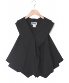 132 5. ISSEY MIYAKE(132 5. イッセイ ミヤケ)の古着「デザインジャケット」|ブラック