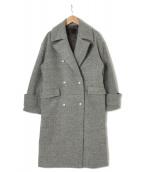 GOUT COMMUN(グーコミューン)の古着「パール釦メルトンコート」