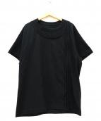GROUND Y(グラウンド ワイ)の古着「半袖カットソー」|ブラック