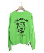 HUMAN MADE(ヒューマンメイド)の古着「スウェット」 グリーン