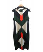 Calvin Klein(カルバンクライン)の古着「ノースリーブワンピース」|ブラック
