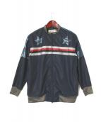 SHARE SPIRIT(シェアースピリット)の古着「ブルゾン」|ネイビー