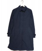 ASPESI(アスペジ)の古着「製品染ステンカラーコート」|ネイビー