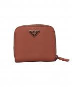 PRADA(プラダ)の古着「2つ折り財布」|ピンク