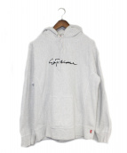 SUPREME(シュプリーム)の古着「Chainstitch Hooded Sweatshirt」|グレー