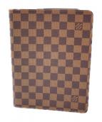 LOUIS VUITTON(ルイ・ヴィトン)の古着「アジェンダ・ビューロ/手帳カバー」|ブラウン