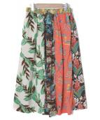 BEAMS BOY(ビームスボーイ)の古着「ハワイアンクレイジーロングスカート」