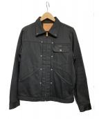Hysteric Glamour(ヒステリックグラマー)の古着「スタースタッズデニムジャケット」|ブラック