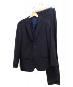 Psycho Bunny(サイコバニー)の古着「3ピーススーツ」|ブラック