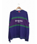 Supreme(シュプリーム)の古着「16AW/center stripe sweat」 パープル