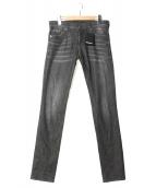 DSQUARED2(ディースクエアード)の古着「ダメージ加工デニムパンツ」|ブラック