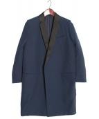 CELINE(セリーヌ)の古着「クロンビーコート」 ネイビー