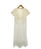 CELINE(セリーヌ)の古着「ロングワンピース」|ホワイト