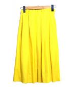Demi-Luxe BEAMS(デミルクス ビームス)の古着「カラースカート」|イエロー