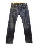 Ron Herman(ロンハーマン)の古着「リペア加工デニムパンツ」|インディゴ