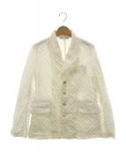 COMME des GARCONS COMME des GARCONS(コムデギャルソンコムデギャルソン)の古着「テーラードジャケット」|オフホワイト