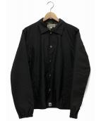 A BATHING APE(アベイシングエイプ)の古着「コーチジャケット」|ブラック