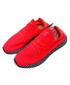adidas(アディダス)の古着「ローカットスニーカー」|ショッキングピンク