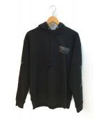 THRASHER(スラッシャ)の古着「ファイアパターンプルオーバー」|ブラック